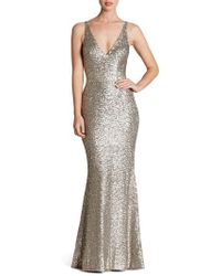Dress the Population - Harper Mermaid Gown - Lyst