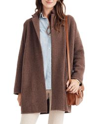 Madewell - Chilton Sweater Coat - Lyst