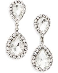 Loren Hope - Crystal Drop Earrings - Lyst