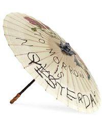 Gucci - Para Rosee Paper Parasol - Lyst
