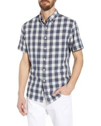Grayers - Gingham Twill Sport Shirt - Lyst