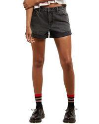 Volcom | Stonewash Denim Shorts | Lyst