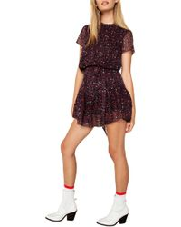 The East Order - Cosette Minidress - Lyst