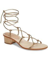 Pour La Victoire - Jules Ankle Tie Sandal - Lyst