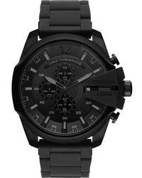 DIESEL - Diesel Mega Chief Chronograph Bracelet Watch - Lyst