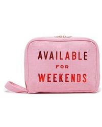 Ban.do - Ban. Do Available For Weekends Cosmetics Case - Lyst