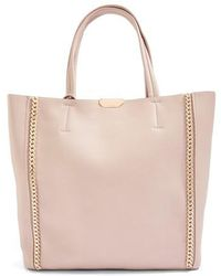 TOPSHOP - Sade Chain Shopper Bag - Lyst