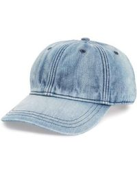 Madewell - Faded Denim Baseball Cap - Lyst