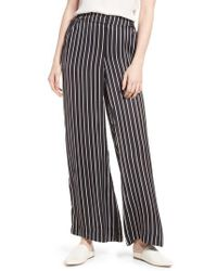 Kenneth Cole - Kenneth Cole Wide Leg Pants - Lyst