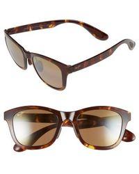 Maui Jim | Hana Bay 51mm Polarizedplus2 Sunglasses - Tokyo Tortoise/ Hcl Bronze | Lyst