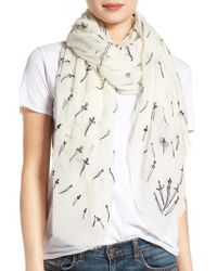Rag & Bone - Embroidered Dagger Scarf - Lyst