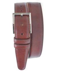 Martin Dingman - 'samuel' Leather Belt - Lyst