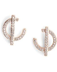 Nadri - Neo Geo Earrings - Lyst
