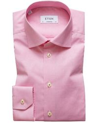 Eton of Sweden - Contemporary Fit Print Dress Shirt - Lyst