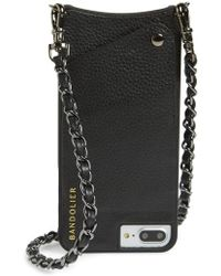Bandolier - Lucy Faux Leather Iphone 7/8 & 7/8 Plus Crossbody Case - Lyst