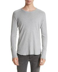 Wings + Horns | Slub Crewneck Sweater | Lyst
