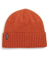 93148f448cd Lyst - Patagonia Brodeo Wool Stocking Cap in Gray for Men