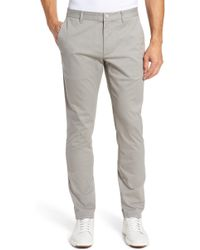 Bonobos - Tailored Fit Washed Stretch Cotton Chinos - Lyst
