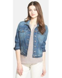 Kut From The Kloth | 'helena' Denim Jacket | Lyst