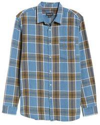 Barney Cools - Plaid Flannel Shirt - Lyst