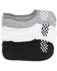 Vans - 3-pack Canoodle Checkerboard Socks - Lyst