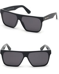 1b2654b1d5 Tom Ford - 140mm Shield Sunglasses - - Lyst