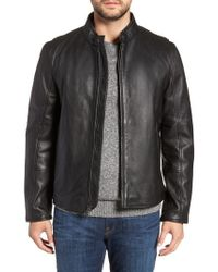 Andrew Marc - Horace Leather Moto Jacket - Lyst