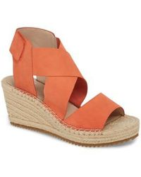 Eileen Fisher | 'willow' Espadrille Wedge Sandal | Lyst