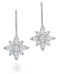 Kwiat - .90ct Tw Diamond Star Earrings - Lyst