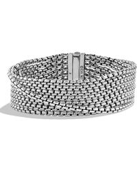 David Yurman - 'chain' Box Chain Eight-row Bracelet - Lyst