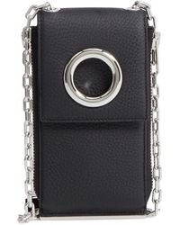 Alexander Wang - Riot Leather Wallet On A Chain - - Lyst