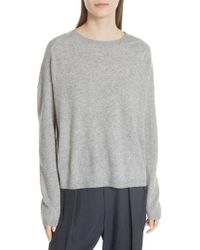 Vince - Cashmere Boxy Sweater - Lyst