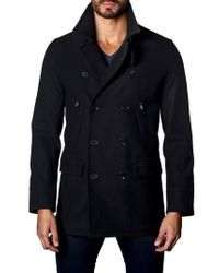 Jared Lang - Double-breasted Coat - Lyst