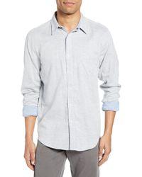 0e01021ea3 Faherty Brand - Belmar Regular Fit Reversible Cotton Sport Shirt - Lyst