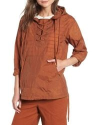 Madewell - Lace-up Popover Jacket - Lyst