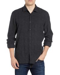 Billy Reid - Walker Regular Fit Flannel Sport Shirt - Lyst