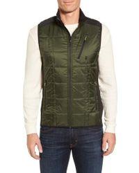 Smartwool - 'corbet 120' Quilted Zip Front Vest - Lyst