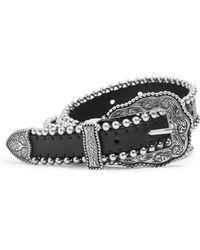 TOPSHOP - Dixieland Faux Leather Western Belt - Lyst