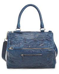 Givenchy   'medium Pepe Pandora' Leather Satchel   Lyst