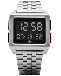 adidas - Archive Digital Bracelet Watch - Lyst