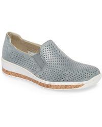 Rieker Antistress - Doris 75 Wedge Sneaker - Lyst