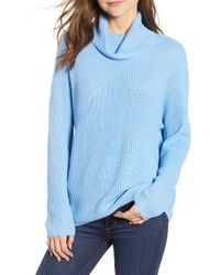 Chelsea28 - Stitch Interest Turtleneck Sweater - Lyst
