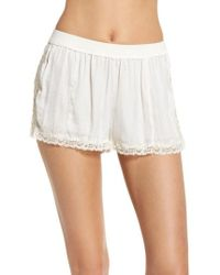 Free People - Intimately Fp High Side Shorts - Lyst