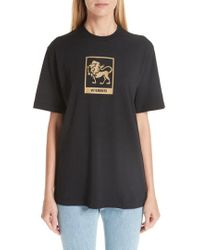 Vetements - Horoscope T-shirt - Lyst