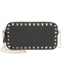 Valentino - Mini Calfskin Leather Camera Bag - Lyst