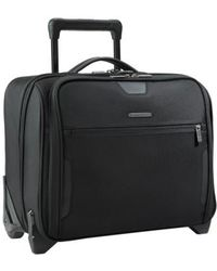 Briggs & Riley - 'medium Slim' Rolling Ballistic Nylon Briefcase - Lyst