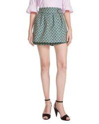 Maje - Floral Culotte Shorts - Lyst