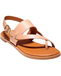 1619b2b2961c Lyst - Cole Haan Anica Sandal (women) in Yellow - Save 41%