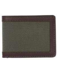 Filson - E Outfitter Leather & Canvas Bifold Wallet - Lyst