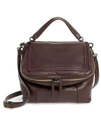 Vince Camuto | Large Patch Leather Crossbody Bag | Lyst